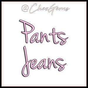 Jeans Trousers Palazzo Leggings Harem Cargo Pants